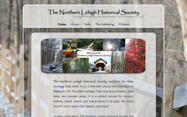 northern lehigh historical society website