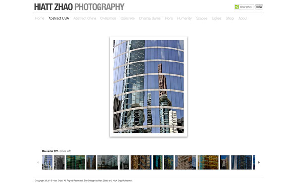 hiatt zhao photography website 2014